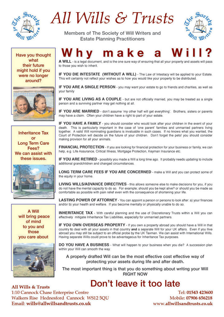 Whymakeawill