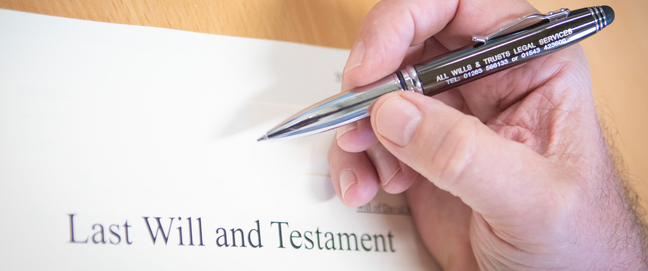 The Last Will and Testament at All Wills & Trusts